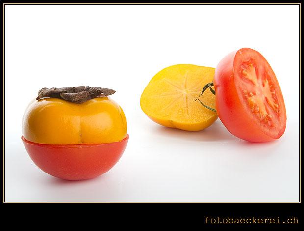 Tag 117 Projekt 365 Tomate Kaki