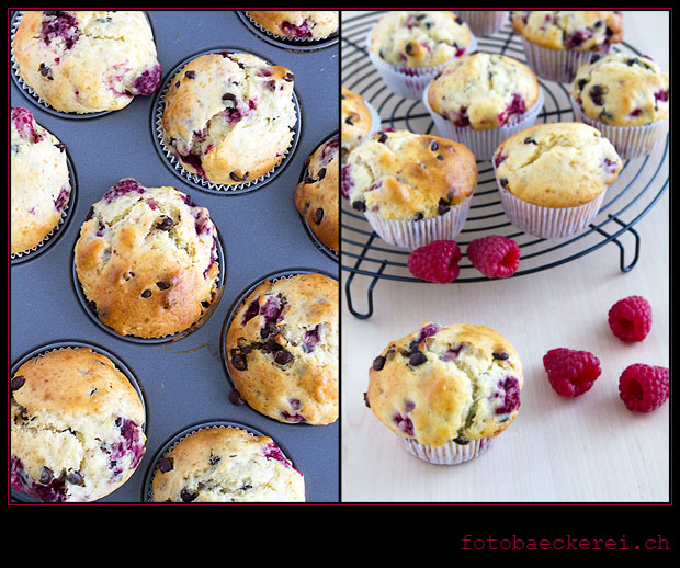 Tag 142 Projekt 365 Himbeer Schokolade Muffins