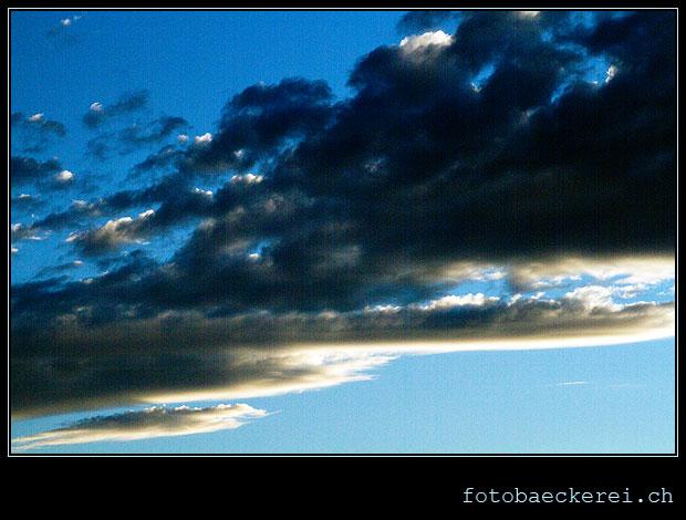 Pojekt 365 Tag 202 Wolken