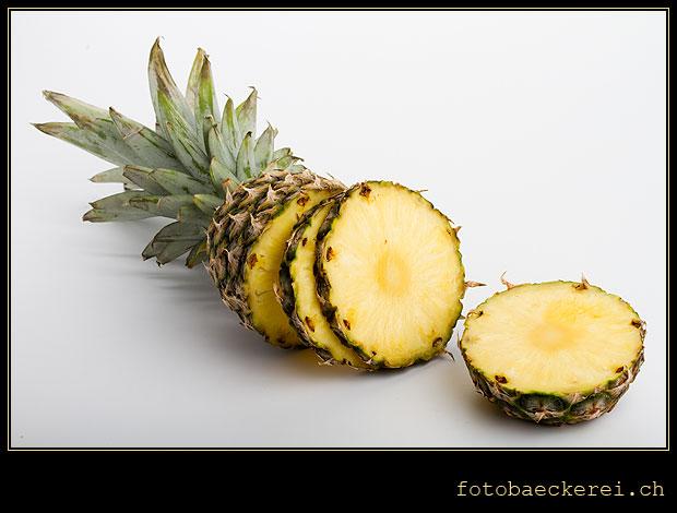 Tag 211 Projekt 365 Ananas geschnitten