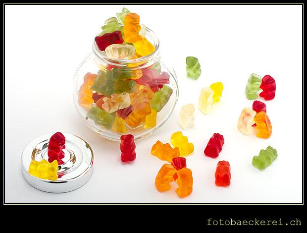 Tag 218 Projekt 365 Gummibaeren Glas