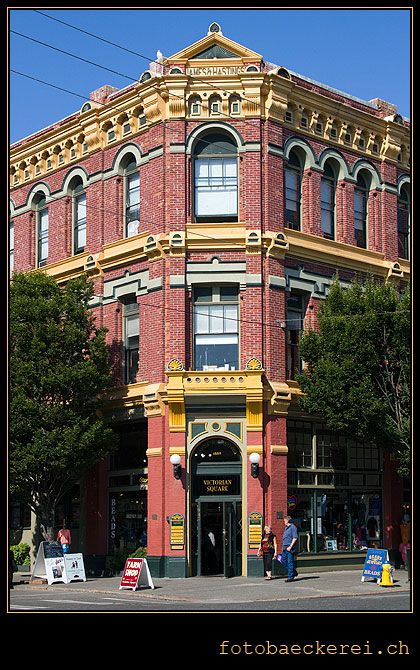 projekt 365 Tag 228 port townsend victorian square