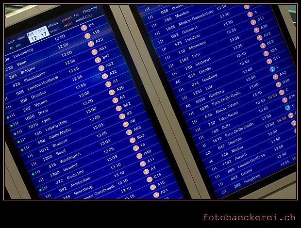 Tag 247 Projekt 365 Flughafen Frankfurt Anschlussfluege