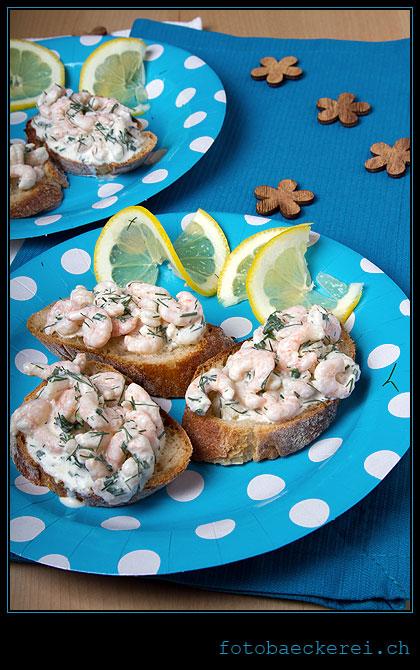 Tag 256 Projekt 365 Skagenrora Shrimp Broetchen