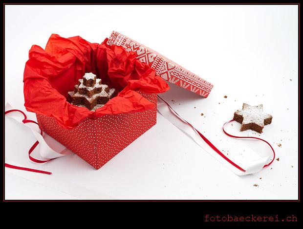 Tag 306 Projekt 365 Brownie Stern Weihnachtsbaum