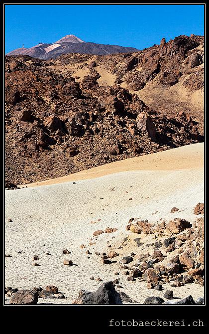 Teide sand Canadas Teneriffa spanien
