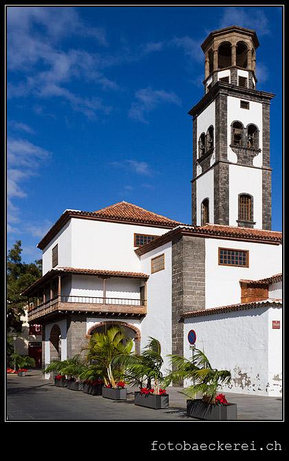 Iglesia de la concepcion, Santa Cruz de Tenerife