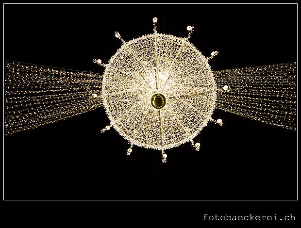 WEihnachtsluster, Weihnachtsbeleuchtung, Graben, Wien, Oestrreich