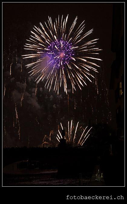 Tag 339 Projekt 365 Neujahrsfeuerwerk 2012 Zurich
