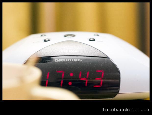 Tag 347 Projekt 365 Wecker schlafenszeit