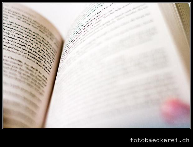 Tag 350 Projekt 365 Buch lesen